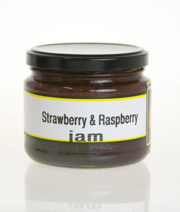 Strawberry-Raspberry-jam