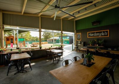 Handasyde's eating/lunch area